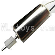 Koome model K026 RC helicopter parts, K-026 parts-18 Main motor with short shaft and gear