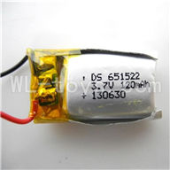 Koome model K026 RC helicopter parts, K-026 parts-26 Battery