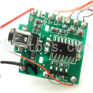 Koome model K026 RC helicopter parts, K-026 parts-27 Circuit board