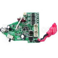 Koome model K027 RC helicopter parts ,K-027 parts-14 Circuit board,Receiver board