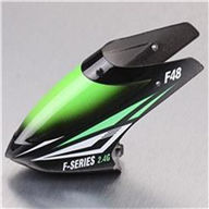 MJX F648 F48 RC Helicopter Parts-01 Head cover(Black&Green)