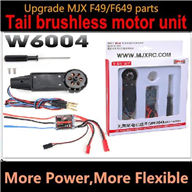 Upgrade Parts MJX W6004 Tail brushless motor for MJX F49 F649 rc helicopter