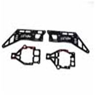 MJX F29 F629 RC Helicopter Parts-25 Main metal frame(Color:White/Black)