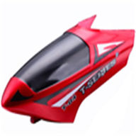 MJX T04 T604 RC Helicopter Parts-01 Head Cover (red)