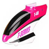 MJX T40C T640C RC helicopter parts-01 Head Cover(Pink)