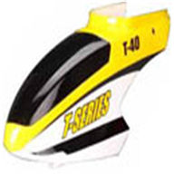 MJX T40C T640C RC helicopter parts -02 Head Cover(Yellow)