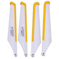MJX T40C T640C RC helicopter parts-04 Main Blades(Yellow)
