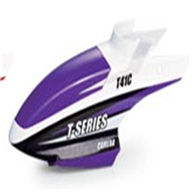 MJX T41C T641C RC helicopter parts-01 Head cover(Purple)
