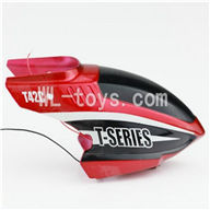 MJX T42C T642C RC helicopter parts-01 Head cover(Red)