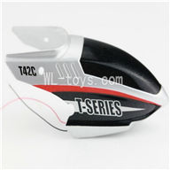 MJX T42C T642C RC helicopter parts-02 Head cover(white)