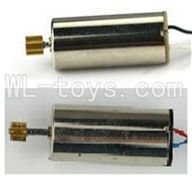 MJX T42C T642C RC helicopter parts-21 Main motor with long shaft and gear & Main motor with short shaft and gear