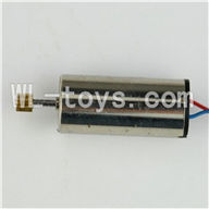 MJX T42C T642C RC helicopter parts-23 Main motor with long shaft and gear