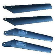 MJX T43 T643 RC helicopter parts-02 Main rotor blades(4pcs-2A+2B)
