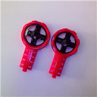 MJX T54 T654 RC helicopter parts-07 Side wing rack(2pcs-Red)