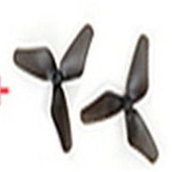 MJX T54 T654 RC helicopter parts-25 Side fly propeller(2pcs)