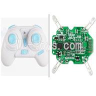 WLtoys V343 Quadcopter WL toys V343 parts-06 Transmitter(White) & Circuit board