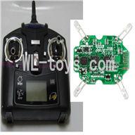 WLtoys V343 Quadcopter WL toys V343 parts-07 Transmitter(Black) & Circuit board