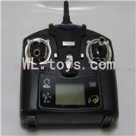 WLtoys V343 Quadcopter WL toys V343 parts-12 Transmitter,Remote control(Black)