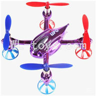 WLtoys V343 Quadcopter WL toys V343 parts-16 Only V252 Body,BNF-Purple(No battery,No Transmitter,No charger) Free shipping
