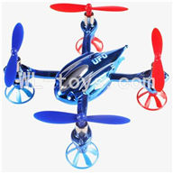 WLtoys V343 Quadcopter WL toys V343 parts-17 Only V252 Body,BNF-Blue(No battery,No Transmitter,No charger) Free shipping