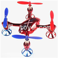WLtoys V343 Quadcopter WL toys V343 parts-18 Only V252 Body, BNF-Red(No battery,No Transmitter,No charger) Free shipping
