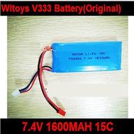 WLtoys V333 RC Quadcopter WL toys V333 parts-05 Priginal 7.4v 1600mah Battery 15C