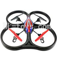 WLtoys V333 RC Quadcopter WL toys V333 parts-24 V333 Quadcopter BNF(Only Quadcopter Body ,No battery ,No transmitter,No charger)-Red&Blue