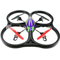 WLtoys V333 RC Quadcopter WL toys parts-25 V333 Quadcopter BNF(Only Quadcopter Body ,No battery ,No transmitter,No charger)-Green&Purple