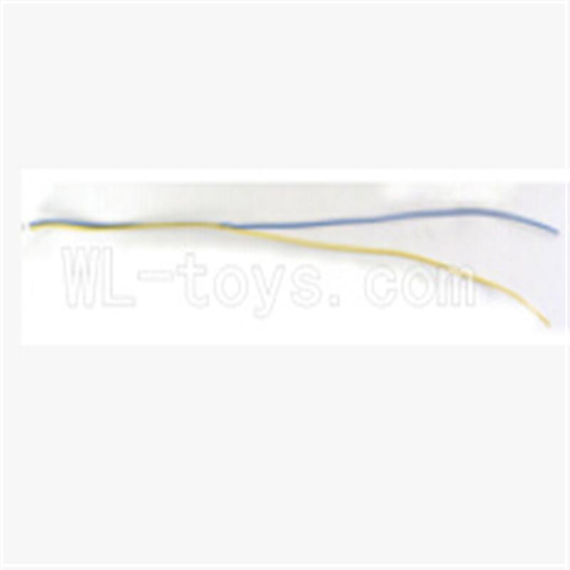 WLtoys V353 Quadcopter parts WL toys V353 parts-24 Wire for the Light board(Blue and Yellow wire)