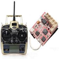 WLtoys V931 RC helicopter parts WL toys V931 AS350 parts-21 Wltoys V977 V966 V931 Transmitter & Circuit board
