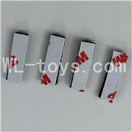 WLtoys V931 RC helicopter parts WL toys V931 AS350 parts-40 Shock pad,sponge pad for the circuit board(4pcs)