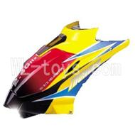 DFD F162 RC helicopter Parts-02 Head cover-Yellow-version-1
