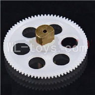 DFD F162 RC helicopter Parts-13 Lower main gear with copper sleeve