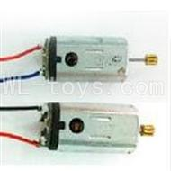 DFD F162 RC helicopter Parts-16 Main motor with long shaft and gear & Main motor with short shaft and gear