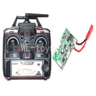 DFD F162 RC helicopter Parts-21 Transmitter & Circuit board