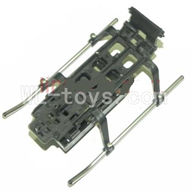 DFD F162 RC helicopter Parts-26 Landing skid & bottom frame & Battery box