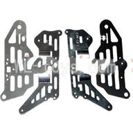 DFD F162 RC helicopter Parts-30 Side metal frame(4pcs)