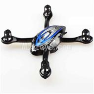 DFD F180 RC Quadcopter parts-03 Upper and lower head cover-Blue