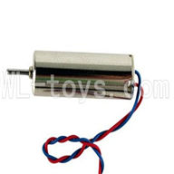 DFD F180 RC Quadcopter parts-07 rotating Motor with red and blue wire(1pcs)