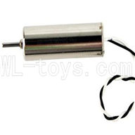 DFD F180 RC Quadcopter parts-08 Reversing-rotating Motor with black and white wire(1pcs)