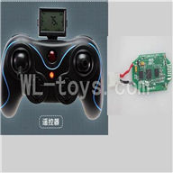 Holy Stone F180 parts-16 Transmitter & Circuit board ,Holy Stone F180 RC Quadcopter Parts,F180 rc drone parts(Can only be used for F180)