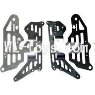 DFD F187 RC helicopter Parts-19 Side metal frame(4pcs)
