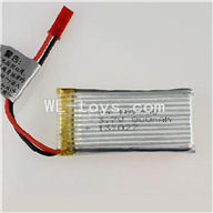DFD F187 RC helicopter Parts-24 Original 3.7v 800mah battery