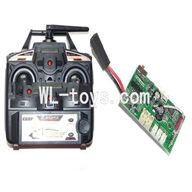 DFD F187 RC helicopter Parts-26 Transmitter & Circuit board