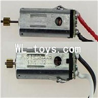 DFD F187 RC helicopter Parts-31 Main motor with long shaft and gear & Main motor with short shaft and gear