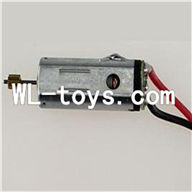 DFD F187 RC helicopter Parts--32 Main motor with long shaft and gear