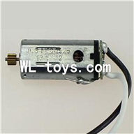 DFD F187 RC helicopter Parts-33 Main motor with short shaft and gear