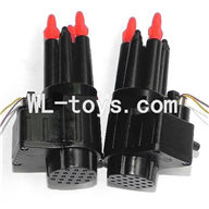 DFD F187 RC helicopter Parts-40 Bullets + Bomber set (Left + Right)