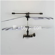 DFD F187 RC helicopter Parts-47 Upper whole unitset