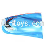 Double Horse 7002 Boat DH 7002 parts-02 Upper cover-Blue